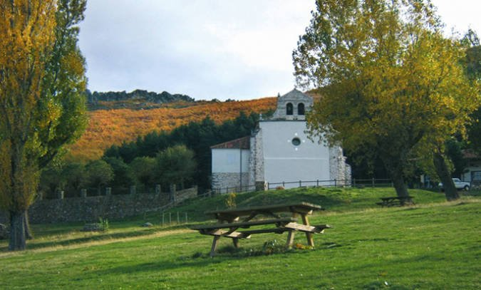 Ermita de Hontanares, en Riaza, Segovia