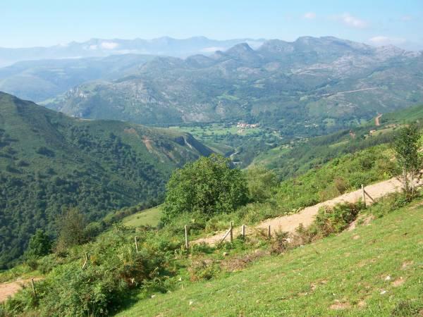 Entorno natural de Valdáliga, en Cantabria