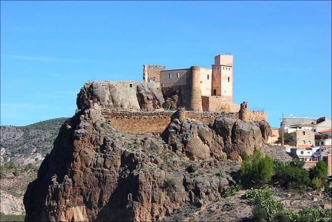 Castillo de Cofrentes, en Valencia