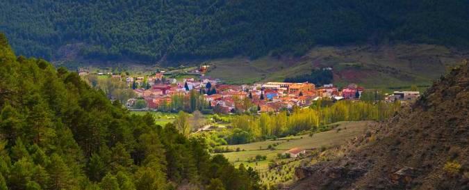 Vista panorámica de Tragacete, en Cuenca