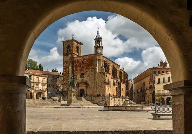 La monumental ciudad de Trujillo, en Cáceres