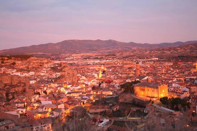 Panorámica de la ciudad de Calatayud, en Zaragoza