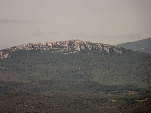Montaña de Santa Magdalena, en Cantallops, Girona