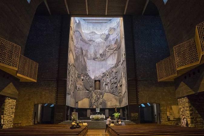 Un diseño diferente: Santuario de Aránzazu
