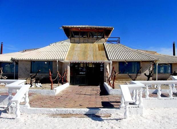 Hotel Palacio de Sal, en el Salar de Uyuni, en Bolivia