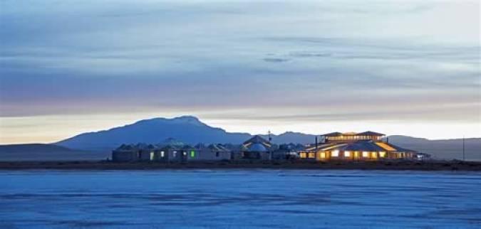 Hotel Palacio de Sal, en el Salar de Uyuni, Bolivia