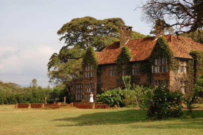 Hotel Giraffe Manor, en Nairobi, Kenia