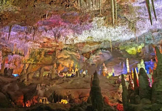 Un lugar espectacular: Cuevas del Hams