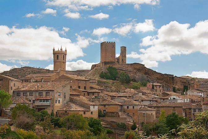 Uncastillo, en la comarca de las Cinco Villas