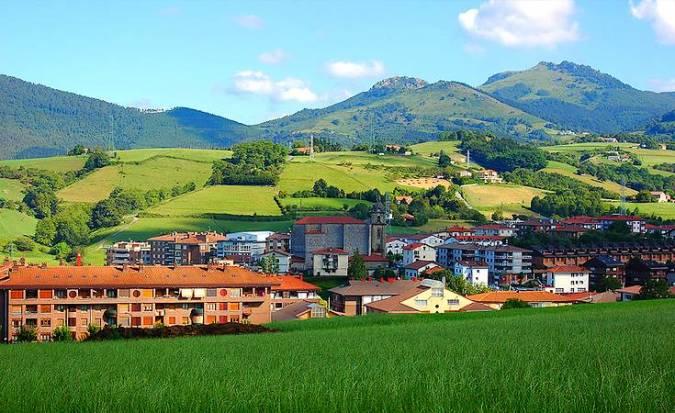 Urnieta, destino de senderistas en Guipúzcoa