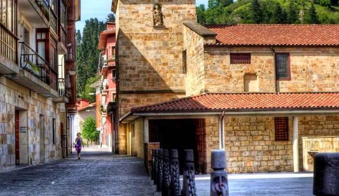 La villa medieval de Urretxu, en Guipúzcoa