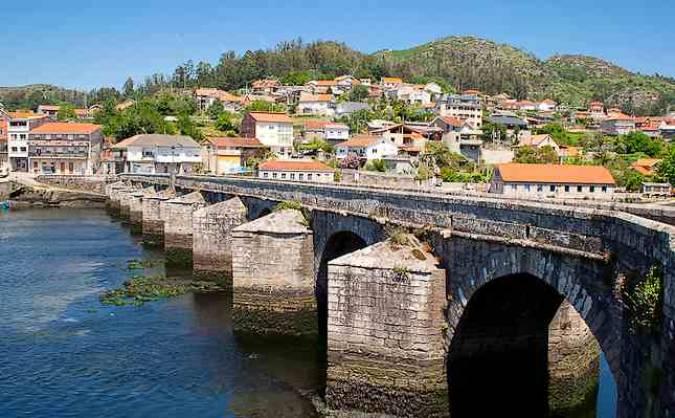 La tranquila villa pontevedresa de Redondela