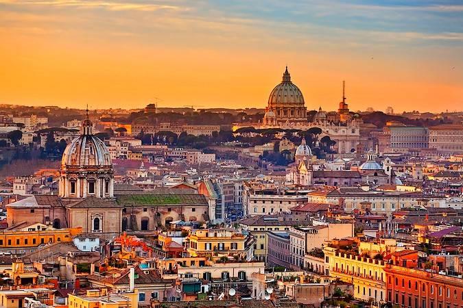 Vacaciones en Roma, Italia