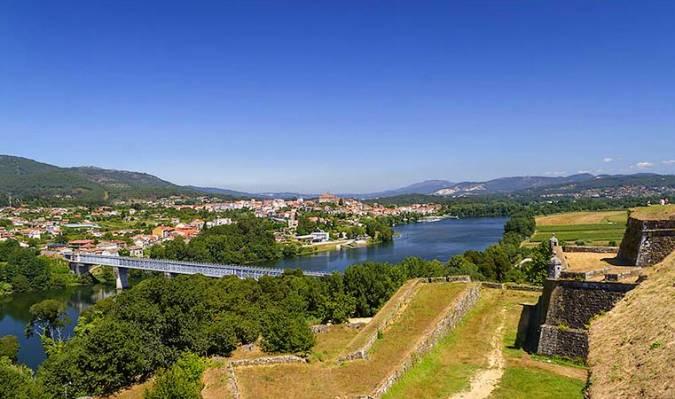 El pueblo fronterizo de Valença do Minho, en Portugal