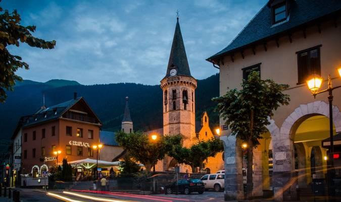La localidad de Vielha, en Lleida