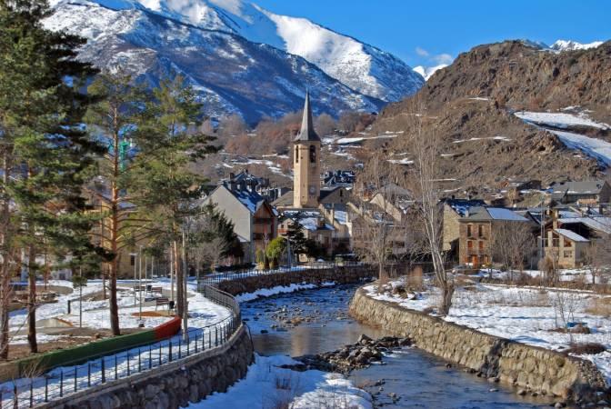 El pueblo de Esterri d'Aneu, en Lleida