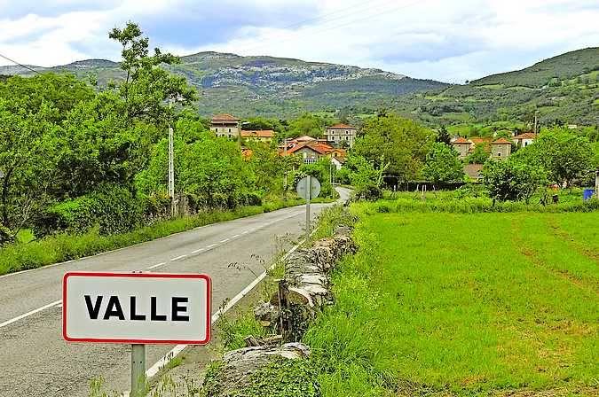 La localidad de Valle de Ruesga, en Cantabria