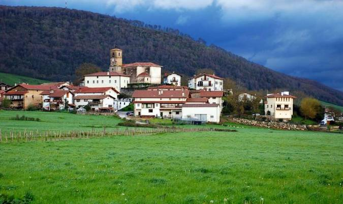 El precioso Valle de Ulzama, en Navarra