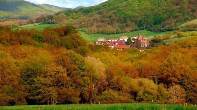 Valle de Ulzama, en Navarra