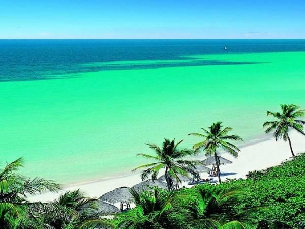 Playa de Varadero, en Cuba