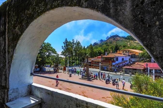 Vega de San Mateo, en la isla de Gran Canaria