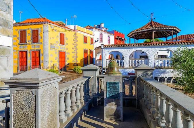 Casco Antiguo de Vega de San Mateo, en Gran Canaria