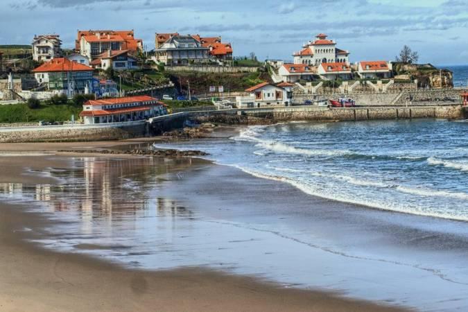 Playa de Comillas, en Cantabria