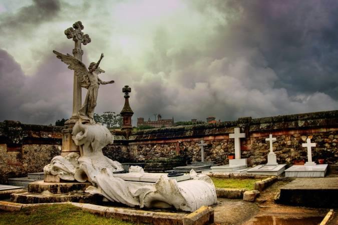 Cementerio Modernista de Comillas, en Cantabria