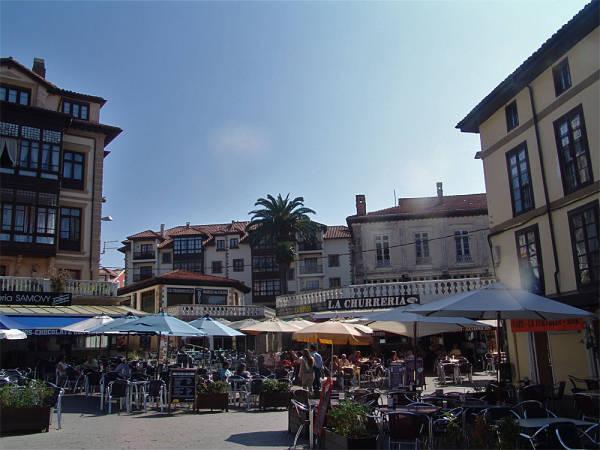 Plaza del Corro Campios, en Comillas, Cantabria