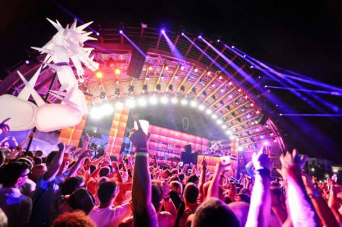 Fiesta de cierre en septiembre de la discoteca Ushuaia, en Ibiza