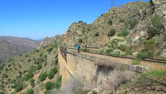 La Vía de La Fregeneda, entre Salamanca y Portugal