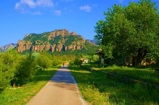 La Vía Verde del Val del Zafán, entre Teruel y Tarragona
