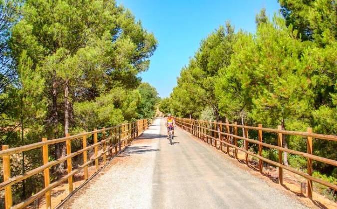La Vía Verde del Noroeste, en Murcia