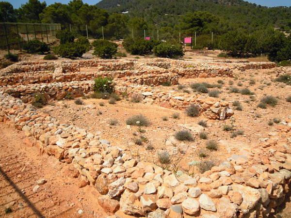 Yacimiento fenicio de Sa Caleta, en Ibiza