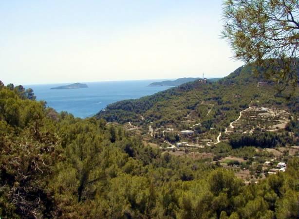 Cala de San Vicente, en la isla de Ibiza
