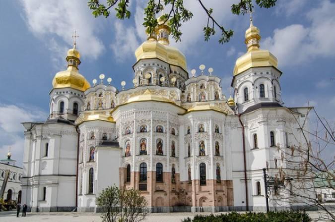 Monasterio de las Cuevas, en Kiev, Ucrania