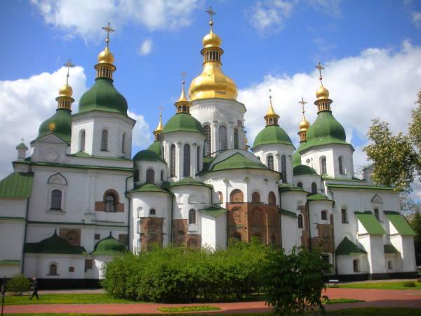 Catedral de Santa Sofía, en Kiev, Ucrania