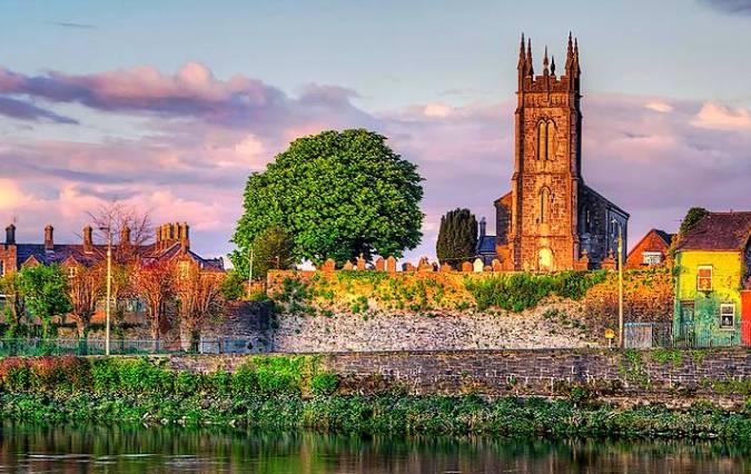 La ciudad de Limerick, en Irlanda