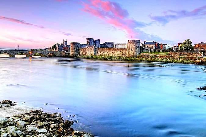 Castillo del Rey Juan, en Limerick