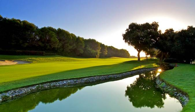 Real Club de Golf de Valderrama, en Sotogrande, Cádiz