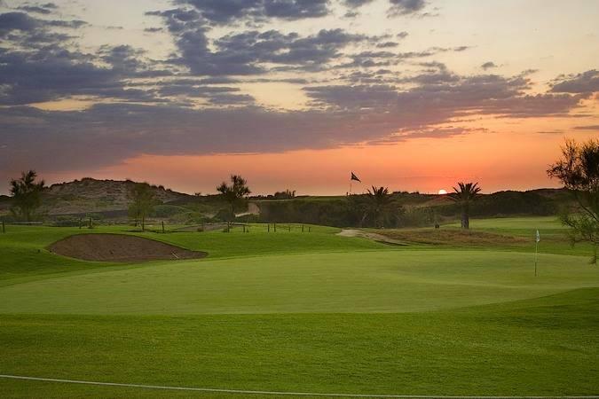 Campo de golf del Parador de El Saler, en Valencia
