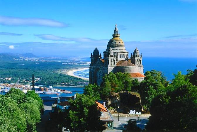 Viana do Castelo, en la Costa Verde de Portugal