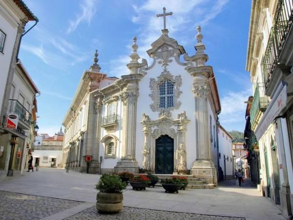Casco antiguo de Viana do Castelo, en Portugal