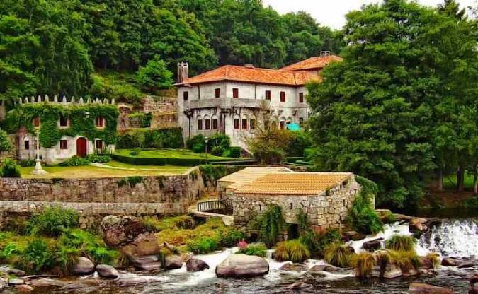 La monumental Villa de Negreira, en A Coruña