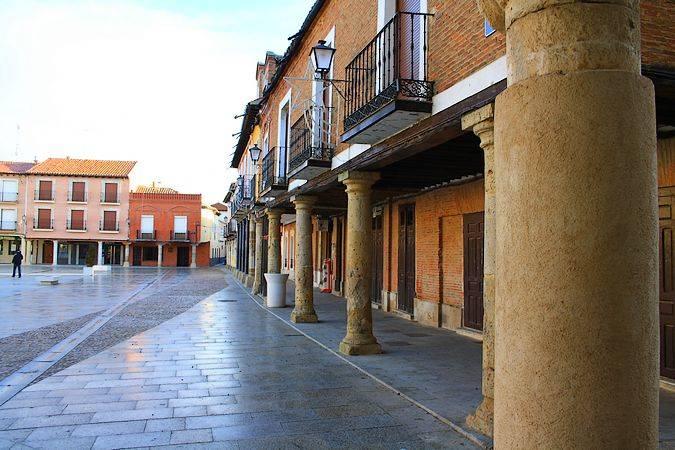 Plaza Mayor de Villalpando, en Zamora