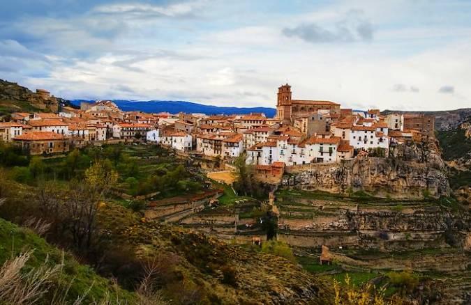 Villarluengo, en el Maestrazgo de Teruel