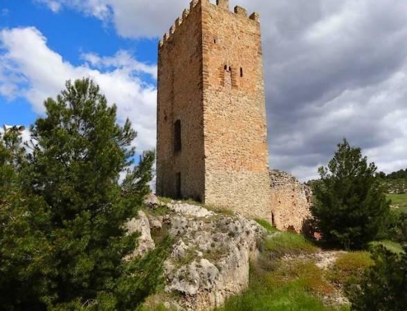 Castillo de Víllora, en Cuenca