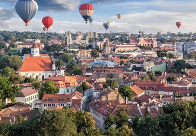 Vilna, la capital de Lituania te enamorará