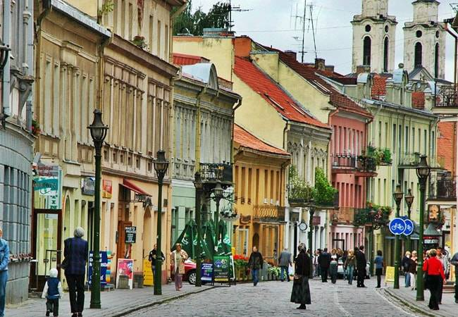 Por las calles de Vilna