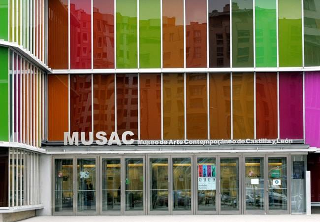 Fascinante visita al MUSAC de León